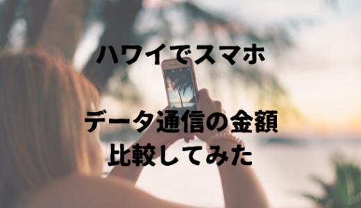 ハワイでスマホを使おう!ポケットwifiレンタルとプリペイドSIMについて比較解説