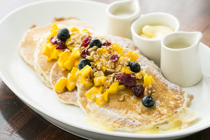 The Veranda breakfast