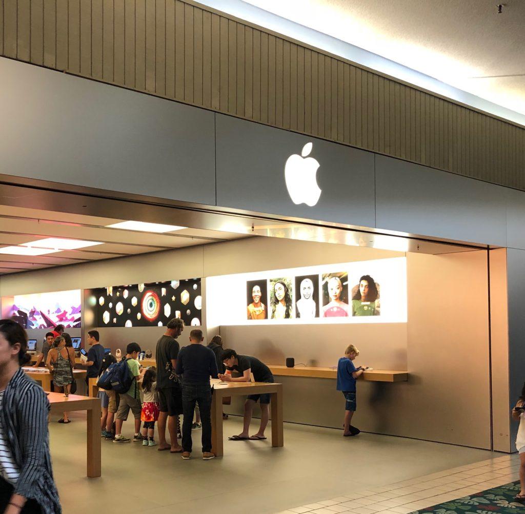 カハラモールのApple Store