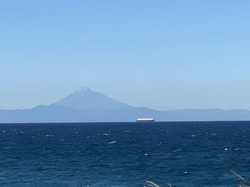 南房総から富士山